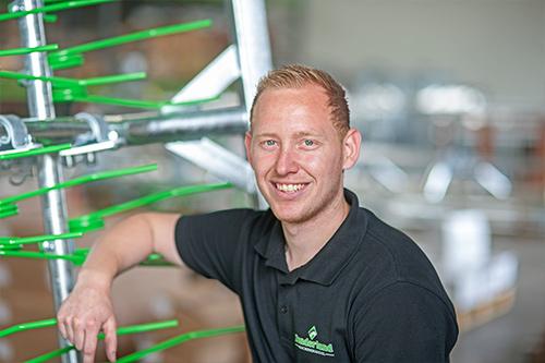 Arno Bakker; Productieleider Zonderland Constructie; Zonderland Machinehandel