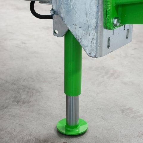 Zocon hydraulische steunpoot, Hydr. support, Hydraulischen Stützfuß, Support hydraulique, Pie de apoyo hidráulico