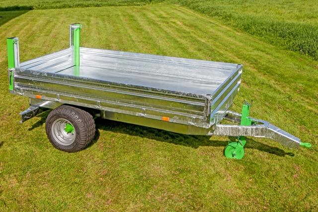 Zocon kipper, tipping trailer, Kipper, Benne Basculante, Remolques