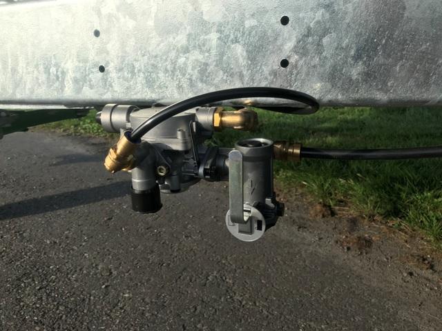 Zocon Kipper luchtberemming, airbrakes, Luftbremse, freins pneumatique, Freno neumático