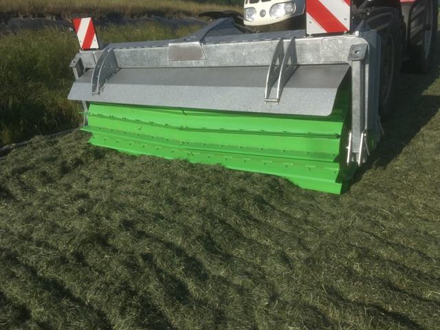 Zocon Greencutter, Messerwalze