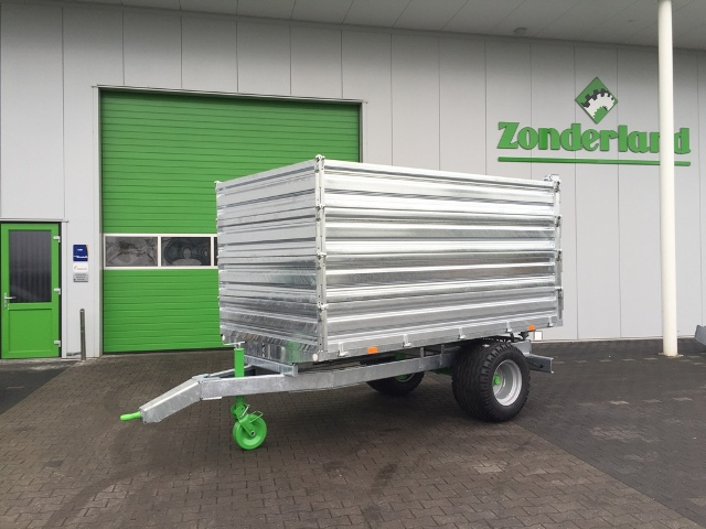 Zocon kipper optie opzet, tipping trailer extension, Kipper Aufsatz, Benne Basculante Parois additionnelle, Remolques Extensión