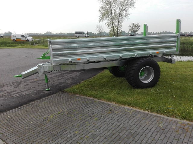 Zocon kipper, tipping trailer, Kipper, Benne Basculante, Remolques