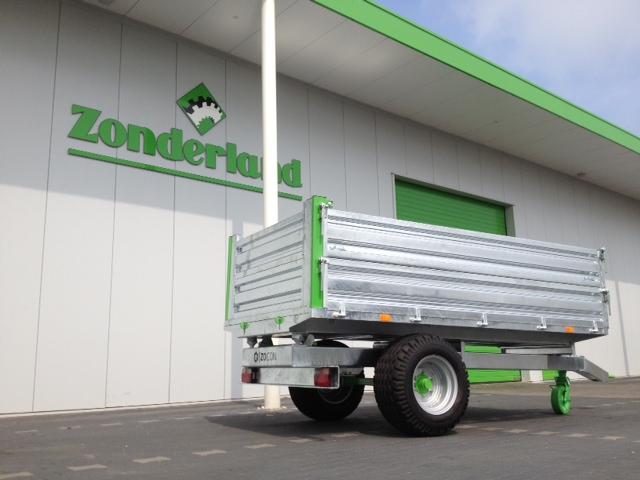 Zocon kipper optie opzet, tipping trailer extension, Kipper Aufsatz, Benne Basculante Parois additionnelle, Remolques Extensión